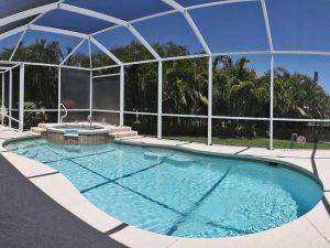 Haeuser Cape Coral: Immobilien Expose Cape Coral: Möbliertes Haus mit Pool am Gulf Access Kanal