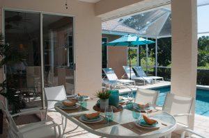 Komplett moebliertes Ferienhaus Bonita Springs zu verkaufen - Immobilien Bonita Springs - Moebliertes Haus am Golf Platz zu verkaufen