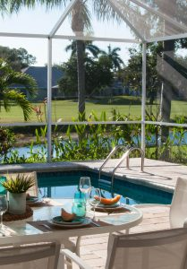 Haus Florida kaufen Haus, Ferienhaus, Fereinvillen, Golf Villa Bonita Springs zu verkaufen, Spanish Wells, Immobilienmakler Kirsten Prizzi